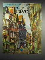1932 Travel Magazine Cover - July 1932