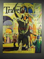 1932 Travel Magazine Cover - January 1932