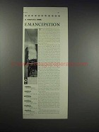 1931 French Line Cruise Ad - Signal For Emancipation
