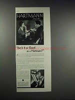 1931 Hartmann Trunks Ad - But is it as Good As