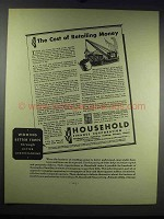 1931 Household Finance Corporation Ad - Retailing Money