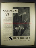 1931 San Francisco Development Ad - Industrial Capital