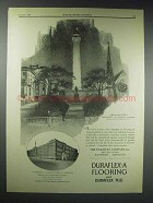1929 Duraflex-A Flooring Ad - Washington Monument