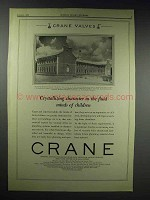 1929 Crane Valves Ad - Perkins Elementary, Knoxville