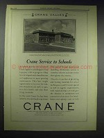 1929 Crane Valves Ad - City Park Junior High, Knoxville