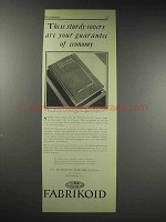 1929 Du Pont Fabrikoid Textbook Binding Material Advertisement