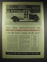 1929 Chevrolet School Buses Ad - All the Advantages