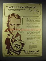 1928 Lucky Strike Cigarettes Ad - George M. Cohan