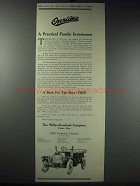 1913 Willys-Overland Cars Ad - Practical Investment