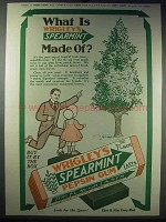 1913 Wrigley's Spearmint Pepsin Gum Ad - What Is