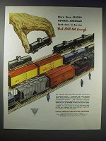 1948 General American Transportation Ad  - Tank Cars
