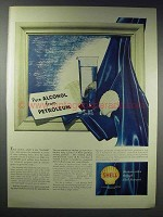 1948 Shell Petroleum Ad - Pure Alcohol From Petroleum