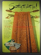 1948 Cannon Towels Ad - Something to Shoot For