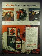 1948 Four Roses Whiskey Ad - The Idea