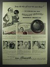 1948 Brunswick Mineralite Bowling Ball Ad - All Want