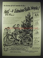 1948 Schwinn Bicycles Ad - The Christmas Gift