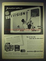 1948 General Electric Television Ad - 901, 802 & 803