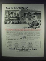 1948 Mercantile-Commerce Bank and Trust Company Ad
