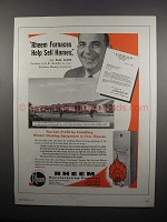 1954 Rheem Furnaces Ad - Paul Sacks