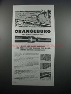 1954 Orangeburg Root-Proof Pipe and Fittings Ad
