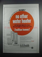 1954 A.O. Smith Electric and Gas Water Heaters Ad