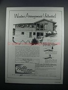 1954 Pella Wood Multi-Purpose Windows Ad - Arrangements