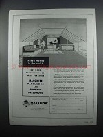 1954 Masonite Panelwood and Tempered Presdwood Ad