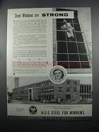 1954 United States United States Steel Windows Ad