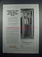 1954 Anaconda Type M Copper Tube Ad - Sanitary Drainage