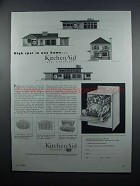 1954 KitchenAid Automatic Home Dishwasher Ad