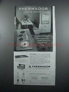 1954 Thermador Bilt-In Electric Ranges Advertisement