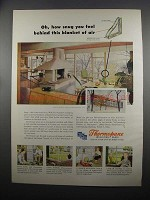 1953 Libbey-Owens-Ford Thermopane Insulating Glass Ad - Snug