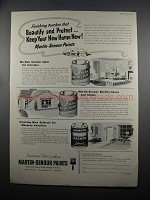 1953 Martin-Senour Paints Ad - Beautify and Protect