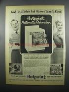 1953 Hotpoint Automatic Dishwasher Ad - Twice as Clean