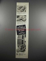 1952 American Chain & Cable Weed Tire Chains Ad