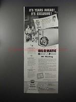1951 Eureka Williams Oil-O-Matic Heating Ad