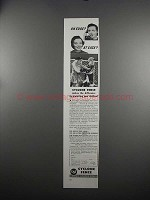 1951 USS United States Steel Cyclone Fence Ad - On Edge