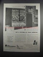1951 Libbey-Owens-Ford Thermopane Glass Ad - A Picture