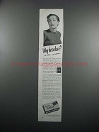1951 Tampax Tampons Ad - Why Be A Slave?