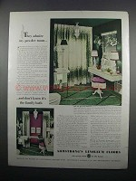 1950 Armstrong's Linoleum Floors Ad - My Powder Room