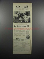 1950 Penn Mutual Life Insurance Ad - You Too Can Retire