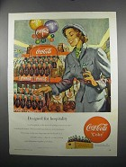 1949 Coca-Cola Coke Soda Ad - Designed for Hospitality