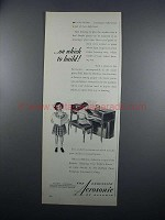 1949 Baldwin Acrosonic Piano Ad - On Which to Build