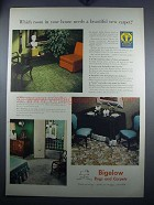 1948 Bigelow Carpet Ad - Which Room in Your House?