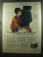 1925 Woodbury's Soap Ad - Laughter Grace