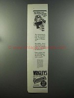 1925 Wrigley's Spearmint Gum Ad - And Mother Said