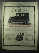1925 Durant Motors Star Cars Ad