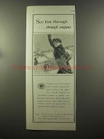 1925 The National City Company Bank Ad - See Him