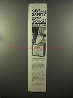 1925 Rexall Firstaid Absorbent Cotton Ad - Safety