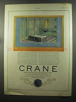 1924 Crane Crystal Shower and Tarnia Bath Ad